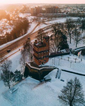 Belvedere Nijmegen winter