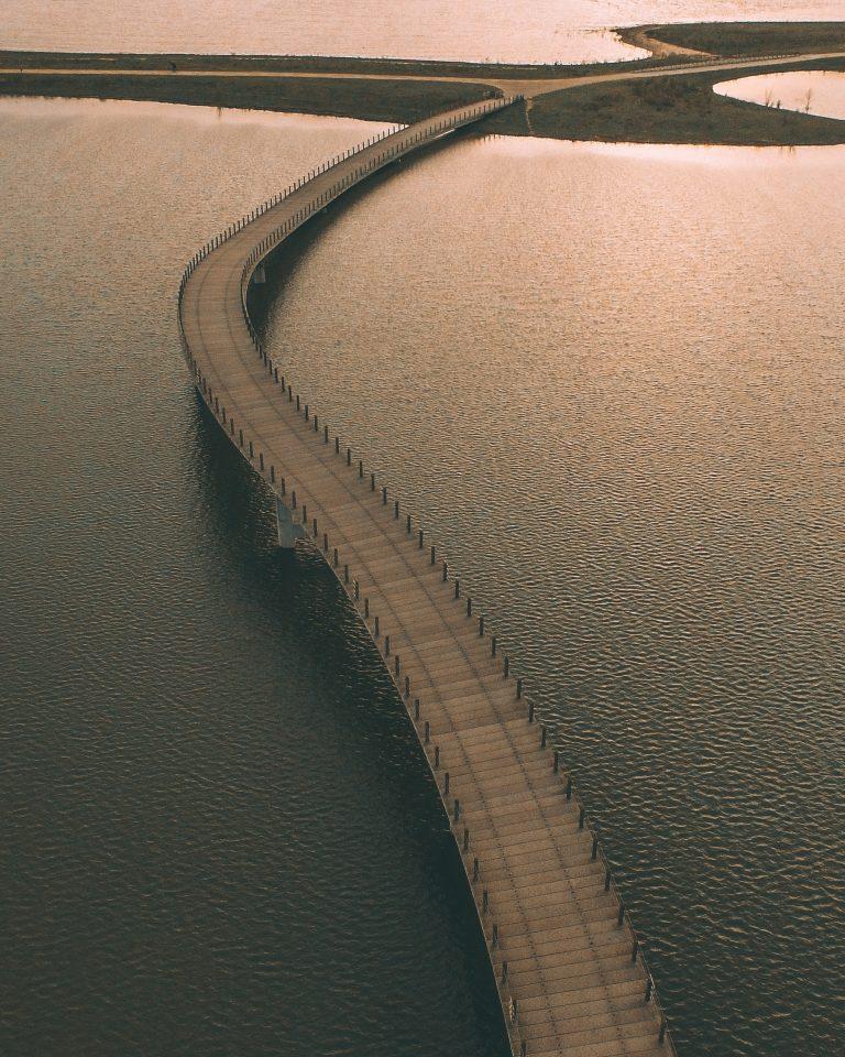 Curvy Bridge Print