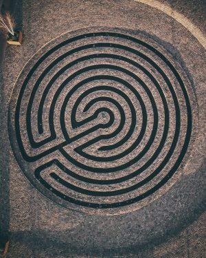 Mesmerizing Maze Print