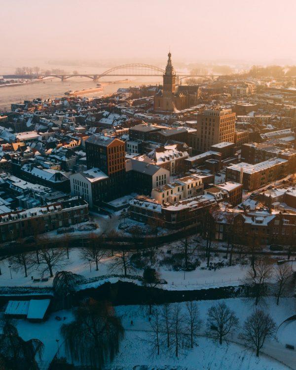 Nijmegen Stevenskerk winter