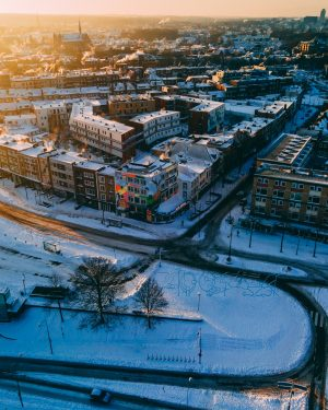 Hotel Credible Nijmegen winter